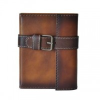 Block Notes Holder In Cow Leather