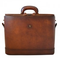 Rafaello Laptop Compatible Large Genuine Italian CalfskinBriefcase