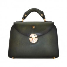 Veneziano Small Vegetable Tanned Italian Leather Womans Handbag