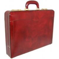 Federico Da Montefeltro Attache Case in Genuine Italian Leather