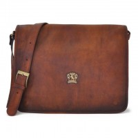 Val D'Orcia Cross Body Bag in cow leather