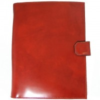Andrea del Sarto Snap Portfolio in Genuine Italian Leather (A4 Format)