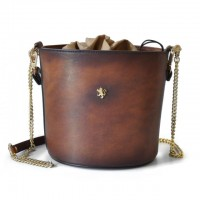 Cross-Body Bag Secchiello In Cow Leather