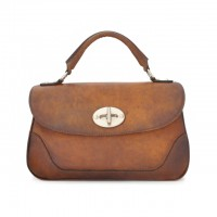 Garfagnana Genuine Italian Leather Handbag