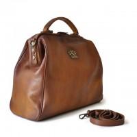 Monteriggioni Genuine Italian Leather Handbag