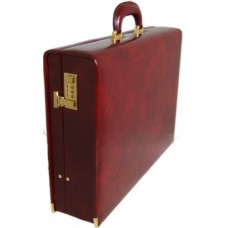 Machiavelli Italian Leather Large Attache Case