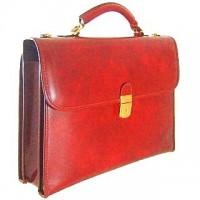 Da Verrazzano Briefcase for Laptop in Cow Leather