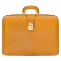 Leonardo Briefcase in Cow Leather
