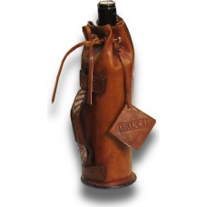 Bottle Holder In Cow Leather