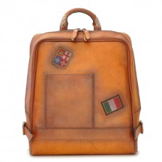 Firenze Laptop Backpack In Cow Leather