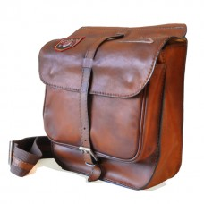 Bisaccia Cross-Body Bag in Cow Leather