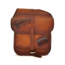 Bisaccia Small Cross-Body Bag in Cow Leather