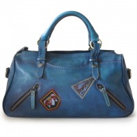 Abetone Genuine Italian Leather Handbag