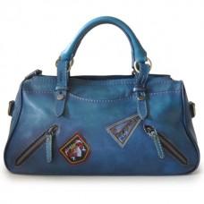 Abetone Genuine Italian Leather Handbag