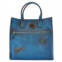 Tote Bag Amber in cow leather