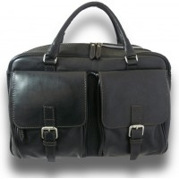 Briefcase Montalcino In Cow Leather