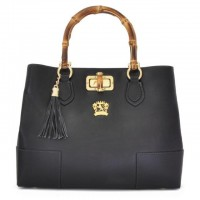 Sarteano Shoulder Bag In Cow Leather