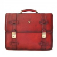 Briefcase Vallombrosa In Cow Leather