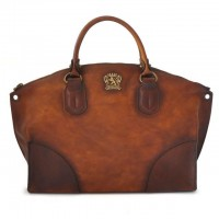 Shoulder bag Subbiano in cow leather