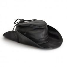 Cagliostro Hat in Genuine Italian Leather (59cm)