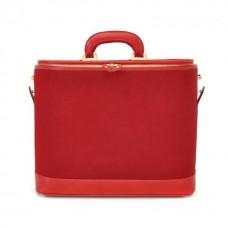 Rafaello Laptop Compatible Genuine Italian Leather Briefcase in Horsehide