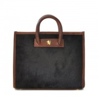 Alberti Small Italian Leahter Womans Handbag in Horsehide