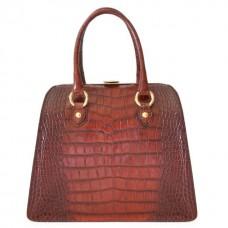 Saturnia Big King Handbag In Cow Leather