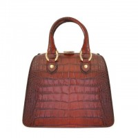 Saturnia Small King Handbag In Cow Leather