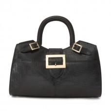 Piero della Francesca King Handbag In Cow Leather