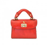 Lucignano Small Handbag In Cow Leather