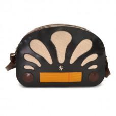 Radio Days Radica Cross-Body Bag In Cow Leather