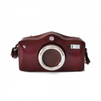 Photocamera Radica Shoulder Bag In Cow Leather