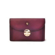 Tullia D'Aragona Santa Croce Lady Bag In Real Leather