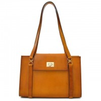 Beato Angelico Small Santa Croce Shoulder Bag In Real Leather